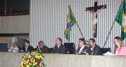 Sessão solene pelo dia do trabalho é realizada na Assembleia Legislativa