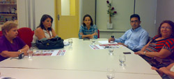 Conselho nacional de educação participou de reunião da comissão especial de valorização do magistério da rede estadual de ensino