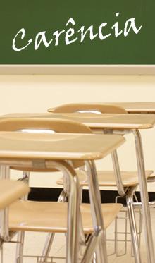 Escolas estaduais têm carência de 5 mil professores