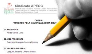 Eleições Sindicato APEOC. Dia 08 de fevereiro 2011