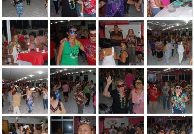 Jantar dançante no sindicato APEOC em ritmo de pré-carnaval