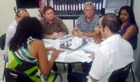 Reunião do Sindicato-APEOC com a CREDE 01