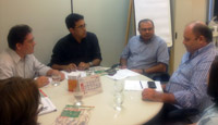 Reunião da Comissão de Valorização do Magistério na SEDUC em 24-03-2011