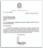 Anízio Melo tem posse registrada na câmara dos deputados