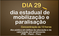 APEOC convoca Dia Estadual de Mobilização e Paralisação