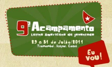 """""""APEOC NAS ESCOLAS"""" no Acampamento Latinoamericano da Juventude 2011"""