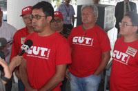 Sindicato APEOC à frente de vigília, mobilização e audiência no Palácio do Governo