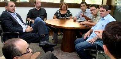 Nesta terça-feira (29/11) Sindicato cobrou encaminhamentos em reunião com o governo estadual