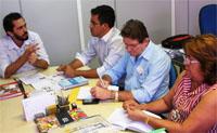 Audiência Sindicato-APEOC e SME