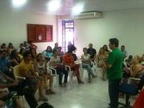 Reunião dos professores do cadastro de reserva