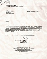Câmara Municipal de Pacatuba aprova moção de parabéns ao Sindicato Apeoc