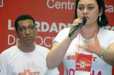 Sindicato APEOC está na Executiva da Central Única dos Trabalhadores no Ceará (CUT-CE)