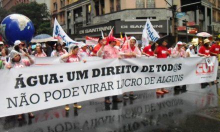 CUT-Ce e Sindicato APEOC participaram da Cúpula dos Povos