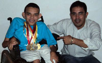 Presidente visita medalhista Ricardo Oliveira