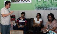 Sindicato intensifica visitas às escolas de Fortaleza
