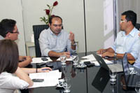 Nesta segunda, ocorreu audiência com governo para implementação da Lei APEOC