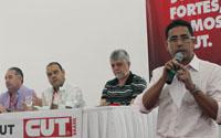 Presidente Anizio Melo defende na Direção Nacional da CUT em Brasília