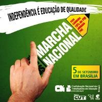 Contagem regressiva para a VI Marcha Nacional Pela Educação