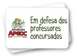 Convocação professores concursados PMF