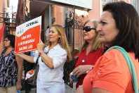 Issec: Servidores fazem protesto contra assistência precária