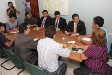 Presidente da OAB-CE visita Sindicato APEOC