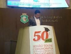 50 Anos do Sindicato APEOC: Sessão Solene AL-CMFOR