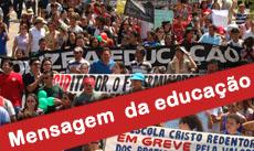 Governo do Estado envia 4 mensagens da Educação à Assembleia Legislativa