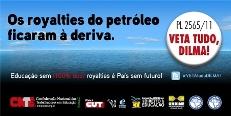CNTE/APEOC lança Abaixo-Assinado para o veto ao projeto de lei dos royalties do petróleo