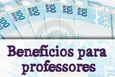 Pagamento dos benefícios para professores efetuado hoje sexta (21/12)