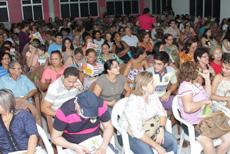 Colônia de Férias do Pecém: Sorteio lota auditório