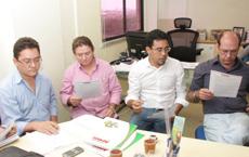 Audiência APEOC e Secretário da Educação, Ivo Gomes