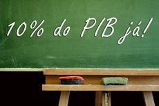 Brasil precisa investir 10% do PIB na Educação