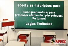 CONCURSO Professor Efetivo: Curso Preparatório aberto