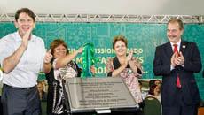 Presidenta inaugura Escola Jaime Alencar*