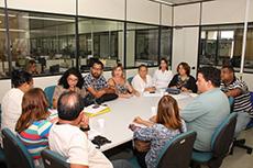 O Coletivo Educação Especial e inclusiva do Sindicato tem audiência com a SEDUC