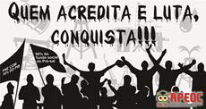 Quem acredita e luta, conquista!!!