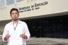 Eleição de gestores: Presidente entrega documento à SEDUC com questionamentos e reivindicações!