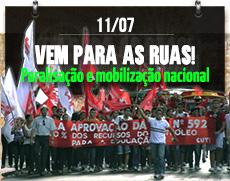 A classe trabalhadora tem pauta e agenda de luta por um Brasil mais justo e mais igual.