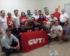Sindicato APEOC participa de curso de formadores de dirigentes sindicais promovido pela CUT