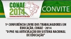 Participe na APEOC da 1ª Conferência Livre dos Trabalhadores em Educação – CONAE 2014