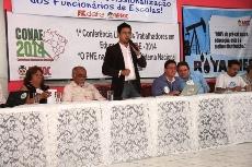 Sindicato APEOC é sede de conferência preparatória a II CONAE em Brasília