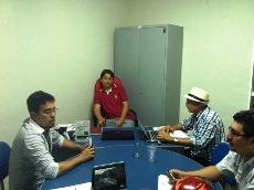 APEOC em Jaguaruana na defesa dos direitos dos profissionais da Educação