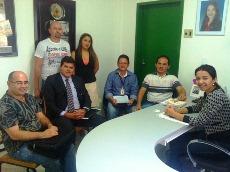 Audiência Sindicato APEOC e Prefeita de Ocara