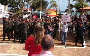 Protesto na Prefeitura: APEOC e Concursados exigem NOMEAÇÃO JÁ!
