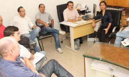 Audiência Sindicato APEOC e prefeita de Ocara (26/09)