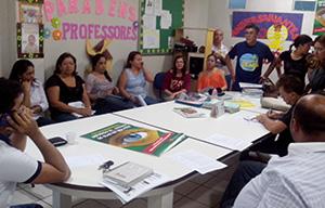 Escola reage à tentativa de municipalização