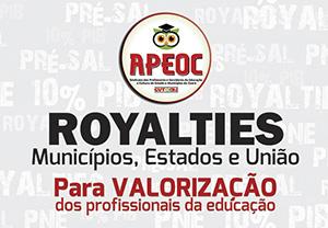Royalties & Educação. Jornal O Povo