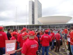 APEOC na Ocupação do Congresso Nacional neste momento!