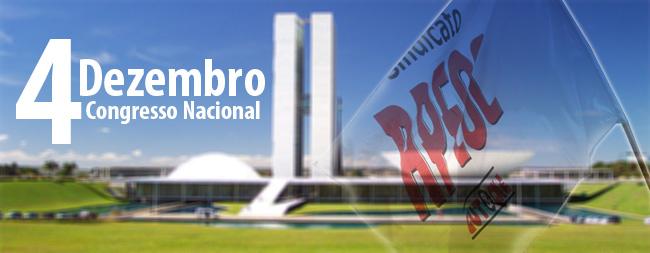 """APEOC na """"Ocupação"""" do Congresso Nacional em 04/12"""