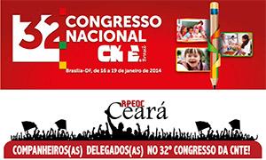 Companheiros(as) Delegados(as) no 32° Congresso da CNTE!
